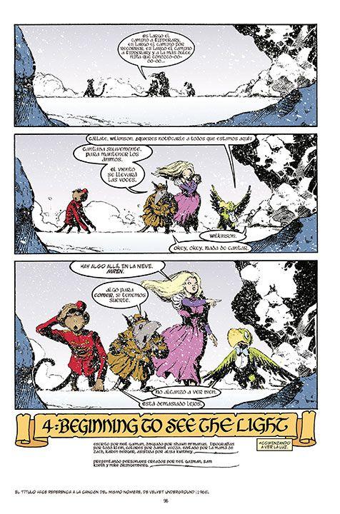 The Sandman Libro 5: Un Juego de Ti, el viaje de una heroína