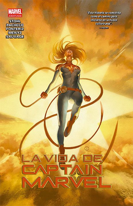 La Vida de Captain Marvel