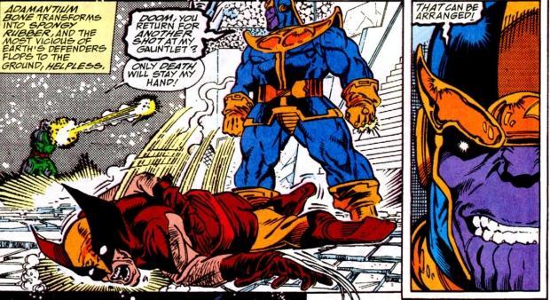 marvel-top-10-muertes-de-wolverine-5-infinity-gauntlet