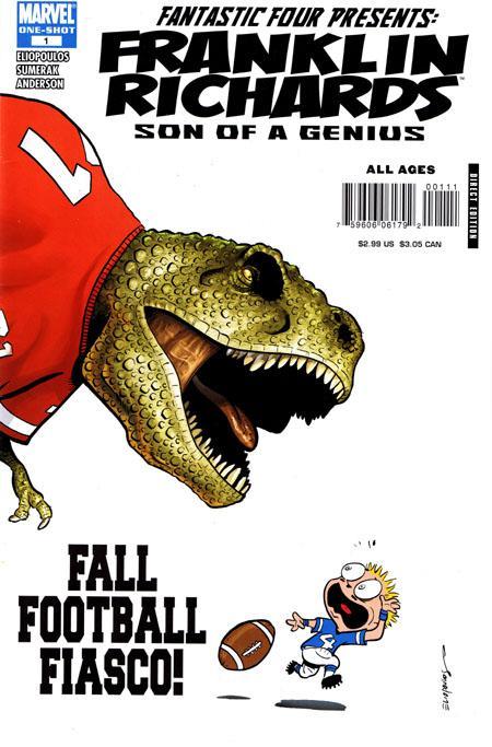 marvel-mejores-historias-marvel-futbol-americano-nfl-franklin_richards_fall_football_fiasco_vol_1_1
